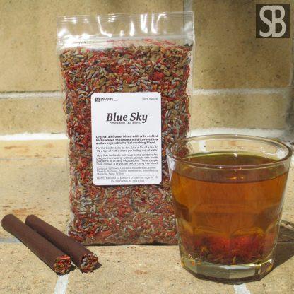 Blue Sky™ Flower Based Herbal Smoking and Tea Blend