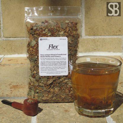 Flex™ Leaf and Flower Smokable Tea Blend