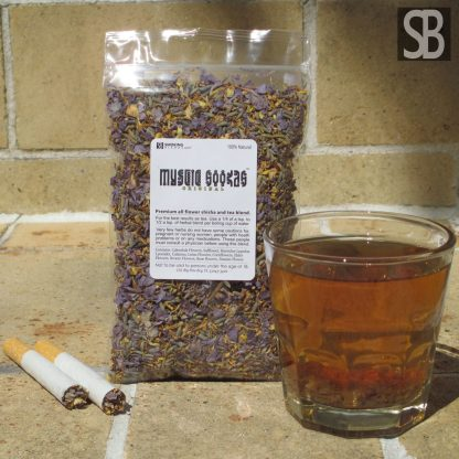 Mystic Hookah™ All Flower Shisha and Tea Blend