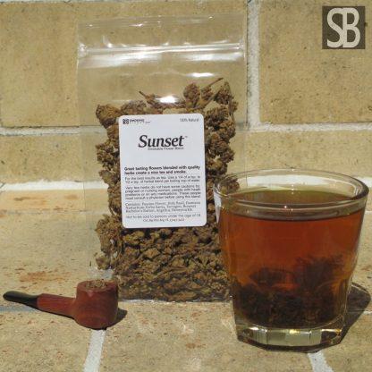 Sunset Flower Based Smokable Tea