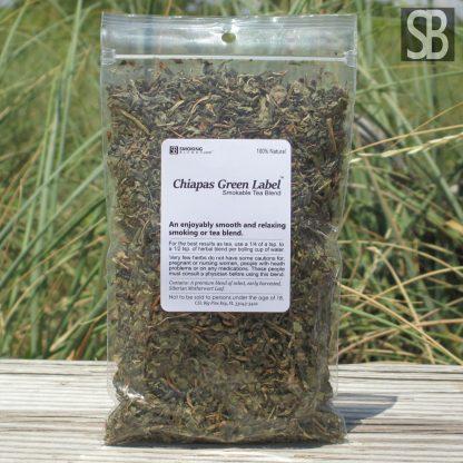 Chiapas Green Label Herbal Smoking Blend